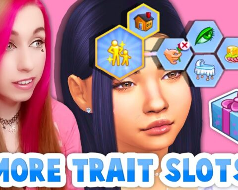 Sims 4 more trait Slots