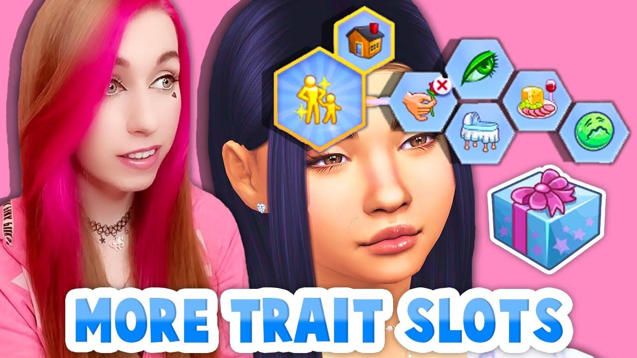 Sims 4 more trait Slots