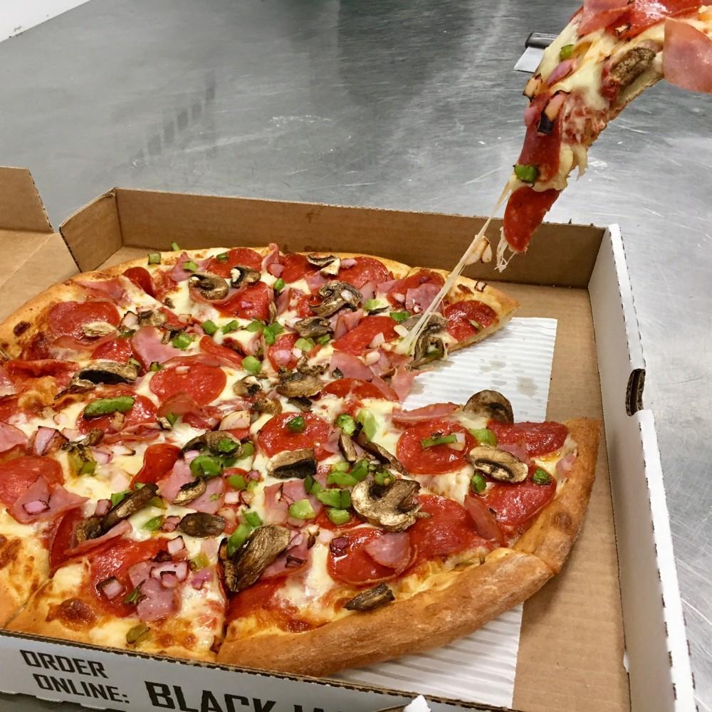 Blackjack pizza locations