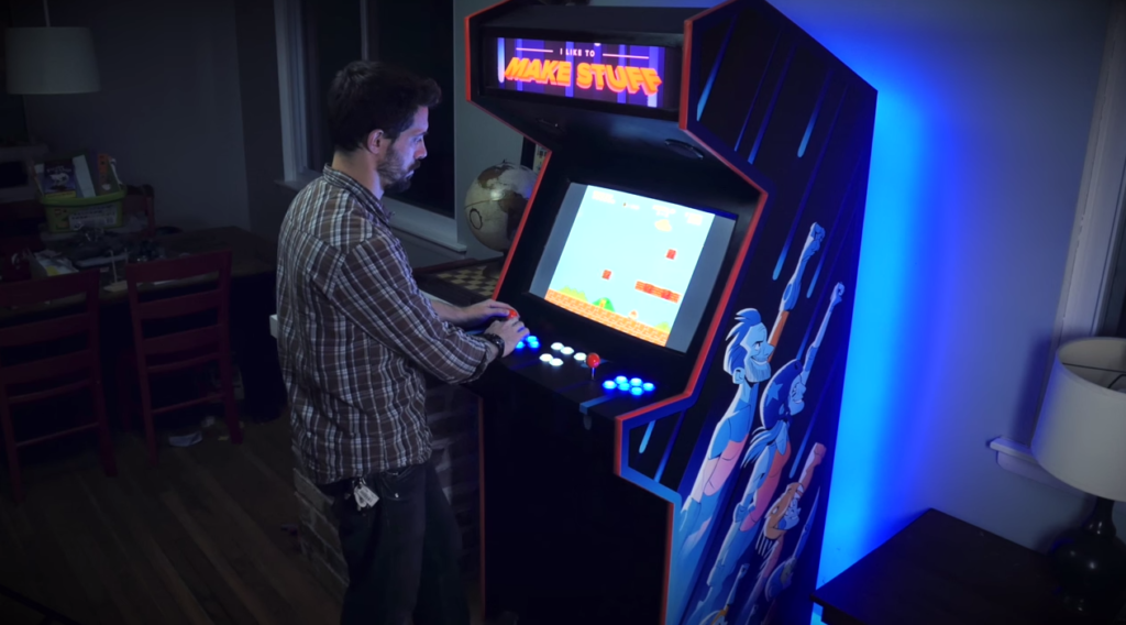 How custom-built arcade machines help in promoting your business and in attracting customers?